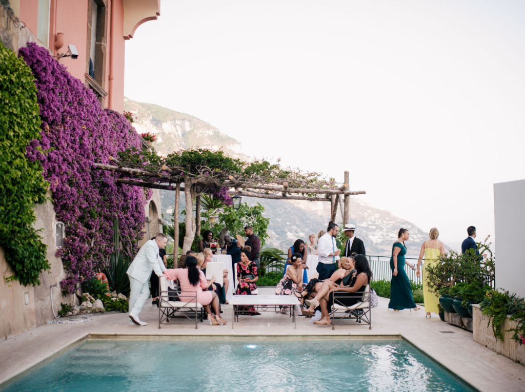 Welcome Reception at Villa Magia Positano