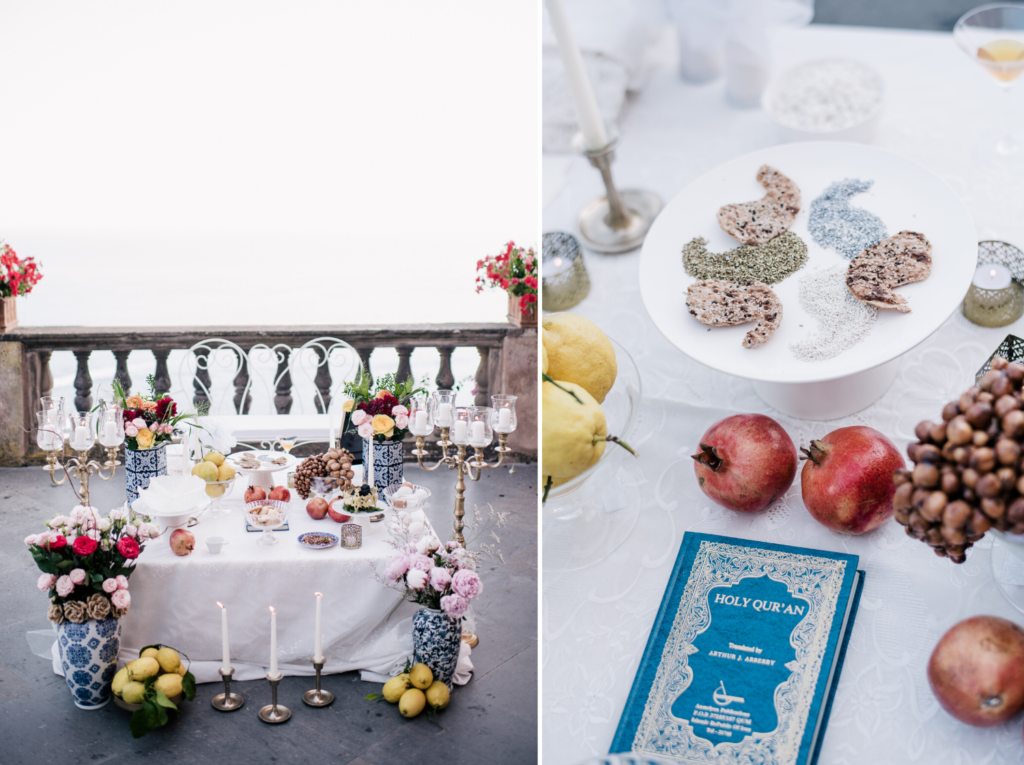 Wedding Sofreh Table